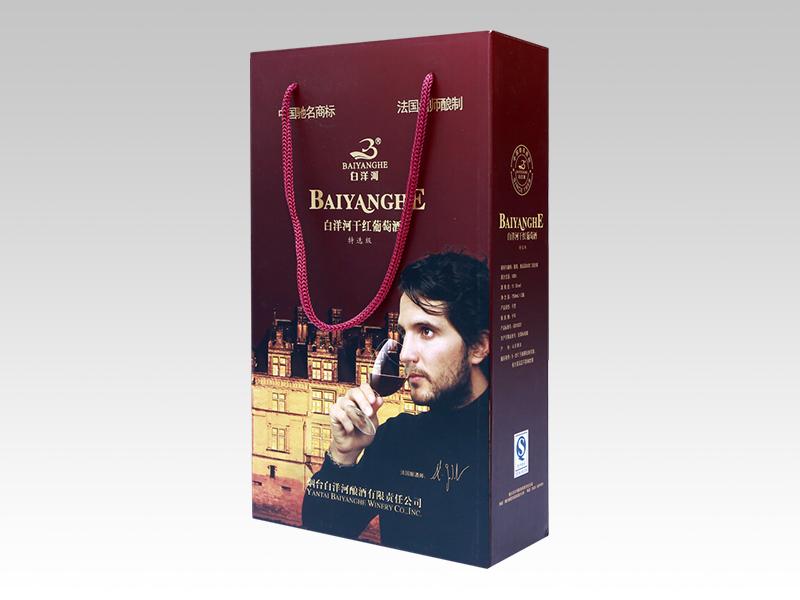 手提袋-烟台定制纸盒